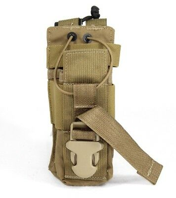 BAE Systems ECLiPSE MBITR Radio MOLLE Pouch - coyote brown
