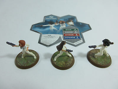 Heroscape Figures: Nakita Agents from Thora's Vengeance w/ Card