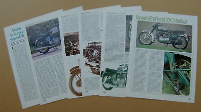 Royal Enfield Enfield India 350 Bullet other RE motorcycle 12 page sides article