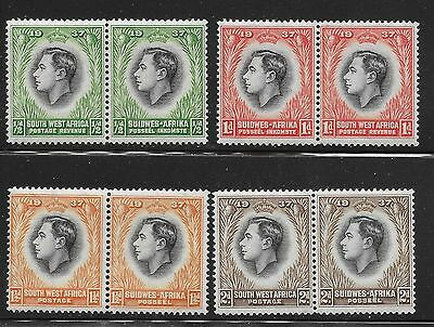 South West Africa Sc 125-132  / Sg 97-104    Mint Never Hinged