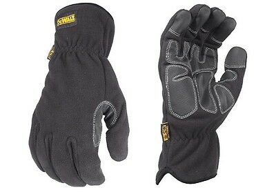 DeWalt Work Gloves DPG740 XL Mild Condition Fleece Cold Weather Winter