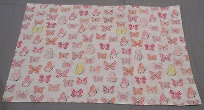 Pottery Barn Kids Organic Butterfly Toddler Pillowcase