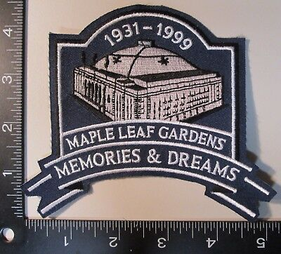 Toronto Maple Leaf Gardens Final Season Patch