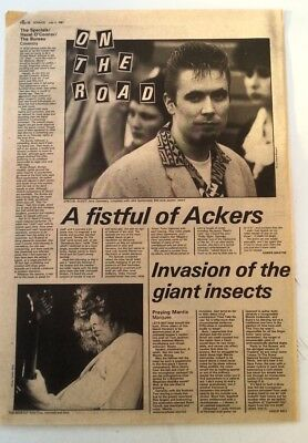 SPECIALS 'Coventry concert review' 1981 ARTICLE / clipping