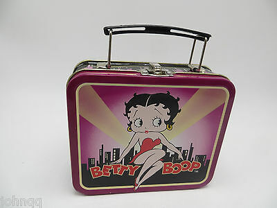 Small Betty Boop Metal Lunch Box
