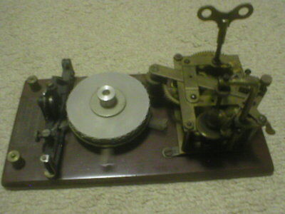 Omnigraph Morse Code Instruction Device 5 DISC WORKING WELL 1900'S last call!