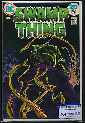 Dc Comics Swamp Thing #8 1974 Cbcs Raw Grade 9.4 Bernie Wrightson