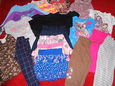 Huge 20 Pc Lot Girls Clothes Old Navy Gap Pants Shirts Childrens Place Size 7/8