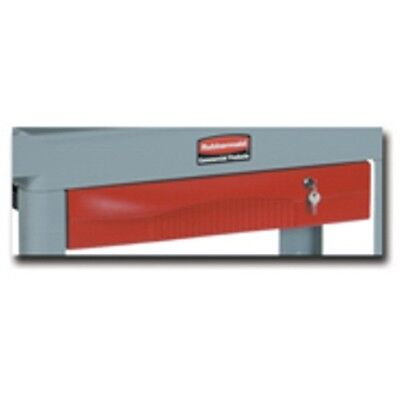 Rubbermaid RCP 459300 Red Extension Drawer for HD Adaptable Cart