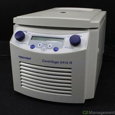 Eppendorf 5415R Refrigerated Centrifuge with F45-24-11 Rotor - For Parts or Repa