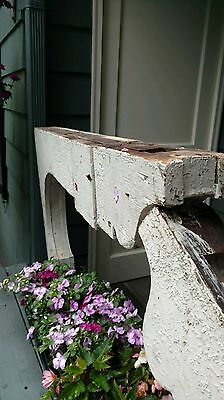 Rare Find - 2 Large Architectural Victorian Antique Corbels or Scroll Brackets