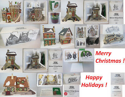 Dept 56 Collection, 70 Pcs Total, 25 Buildings, 45 Accessories, In Boxes
