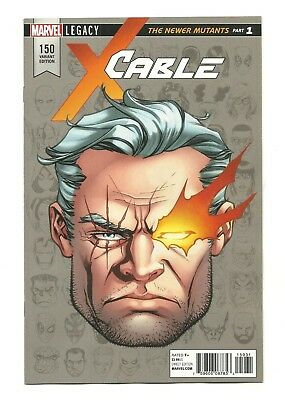 CABLE #150 1:10 McKone Marvel Legacy Headshot Variant VF/NM (9.0)