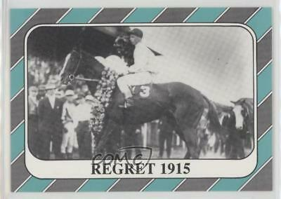 1991 Horse Star Kentucky Derby #41 Regret MiscSports Card