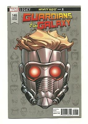 GUARDIANS OF THE GALAXY #146 1:10 McKone Marvel Legacy Headshot Variant NM- 9.2