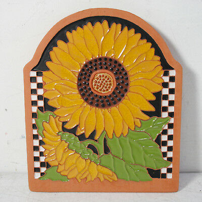 Handcrafted Folk Art Ceramic By Cindy Wallace 1994