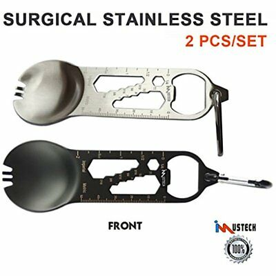 Imustech Steel Camping Eating Utensils Valentine Spoon Set 11 In New Gift