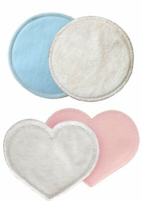bamboobies Washable Reusable Nursing Pads with Leak-Proof Backing for 1 Regular