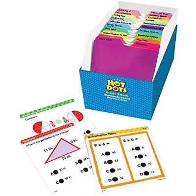 Educational Insights Hot Dots Math Standards-Based Review Cards Grade Gift