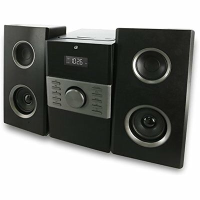 Stereo Home System CD MP3 Player AM/FM Radio GPX Compact DIsc Speakers Gift New