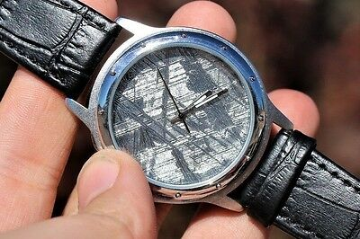 Muonionalusta Meteorite Watch Meteorite Jewelry MTW-0005