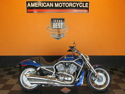 Harley-Davidson V-Rod  2009 Harley-Davidson V-Rod - VRSCAW - Rare Flame Blue Pearl Paint