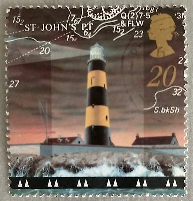 118.great Britain (20) Used Stamp Light House