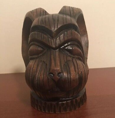 The Blind Rabbit Tiki Mug By Doug Horne. Manufactured by Eekum Bookum