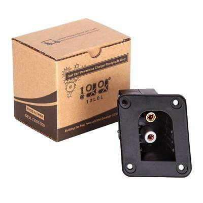 Powerwise Charger Receptacle For EZGO medalist electric TXT Cart 73063-G01 1996
