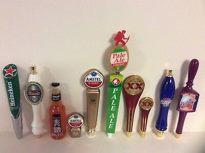 Beer Tap Handles (10) see description no disappointments