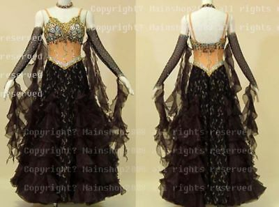 U5662 Women Ballroom tango waltz Quickstep standard dance dress Custom made