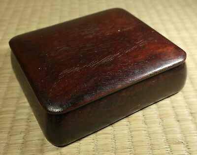 Small Wooden Box / Japanese / Antique