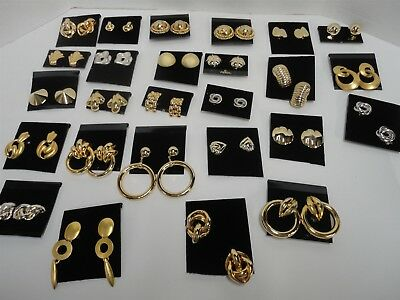 Lot Of 150 Pair Of Vintage Clip On Earrings  Clipon