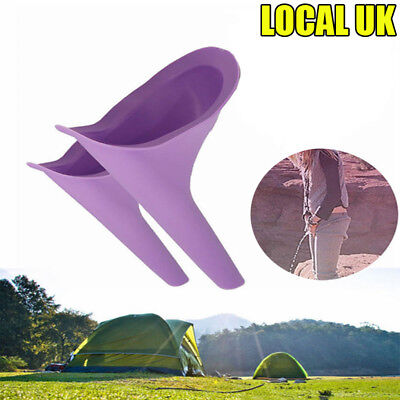 Ladies Women Urinal Portable Female Funnel Direct Urine Camping Travel Woman Wee