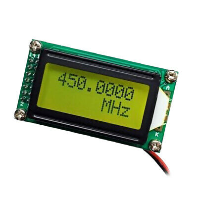 PLJ-0802-C Signal Frequency Counter Cymometer Tester Module Meter Green