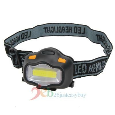 12 COB LED Headlamp Headlight Adjustable Camping Fishing Riding Torch Lamp Light