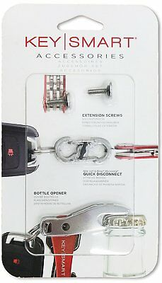 KeySmart Expansion Pack-14 Keys with Quick Disconnect and Bottle Opener