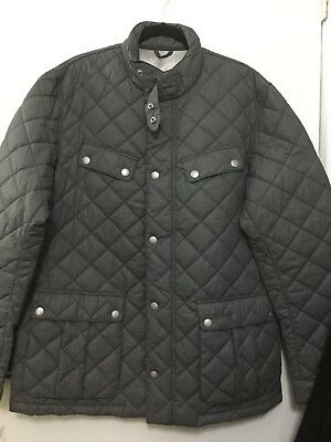Barbour Quilred jacket Steve Macqueen Collection XXL