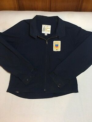 Vintage 1987 Chevron Gas Oil Service Excellence Award London Fog Work Jacket