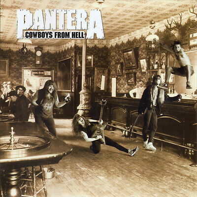 Pantera Cowboys From Hell limited edition 180gm vinyl 2 LP g/f NEW/SEALED