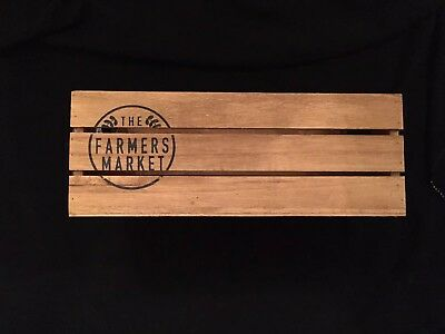 Target Dollar Spot Farmers Tray Crate Container great for Rae Dunn ovals