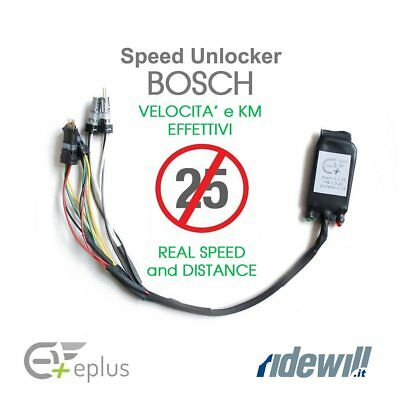 Ebike tuning kit Racing Speed Unlocker 2.0 Bosch real speed and distance EPLUS e