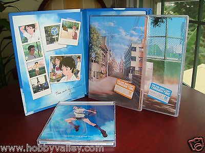 The Girl Who Leapt Through Time LIMITED EDITION Anime Movie DVD Box Set BANDAI