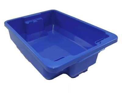 5 X 12L Plastic Storage Tubs Containers Strong Crate Bin Crates Box Boxes 12LT