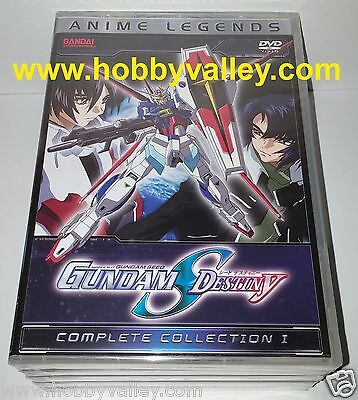 Gundam Seed Destiny Complete Collection Season Part 1 Anime Legends Dvd Set Usa