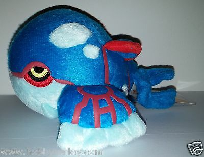KYOGRE POKEDOLL PLUSH DOLL Pokemon Center NEW with TUSH & HANG TAGS 2010 US RARE