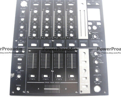 DNB1153 DNB1155 Metal Control Panel Black Faceplate For Pioneer DJM-700-K