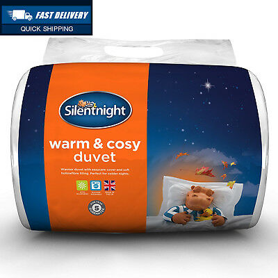 Silentnight Warm And Cosy 13.5 Tog Duvet - King, White