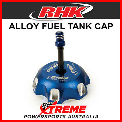 RHK Honda CRF250R CRF 250 R 2004-2018 Blue Alloy Fuel Tank Gas Cap, 65mm ID