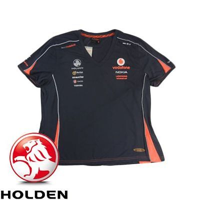 Womens Holden Team Vodafone Lowndes/wincup V8 Polo/euro 10,12,14,16 Bnwt